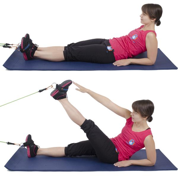 упражнения со жгутом при гонартрозе фото упражнения