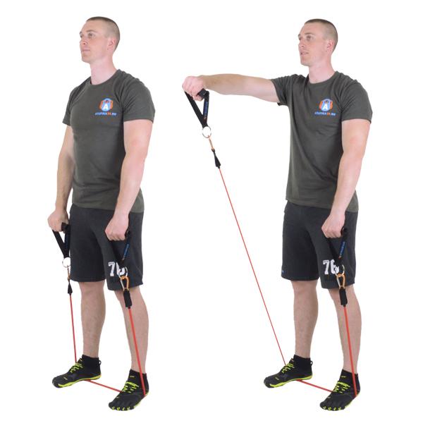 Изображение - Упражнения с эспандером для плечевого сустава 3184529a93ca2a1a60972d3b8a6b0e84